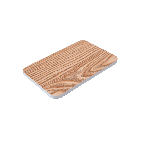 Wood grain pvc foam board