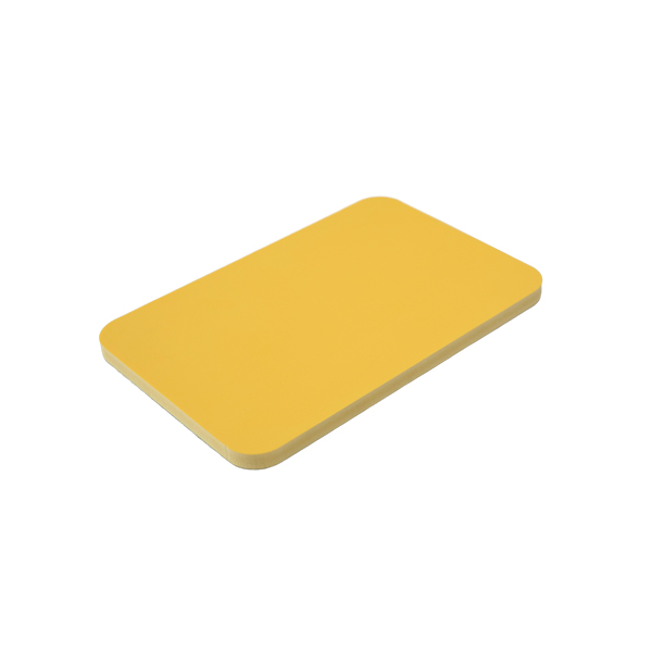 yellow pvc foam board